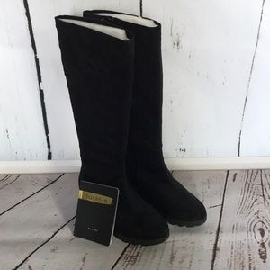Bussola Lhasa Water Resistant Knee High Wedge Boot
